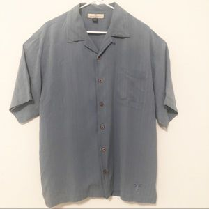 Tommy Bahama Silk Shirt Size Large